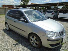 2007 VW POLO 1.6 with 120000km