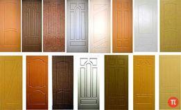 МДФ ПВХ накладки на Бронированные двери по цене от 430 грн за кв.м