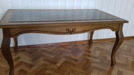 Столик журнальный деревянный (черешня)