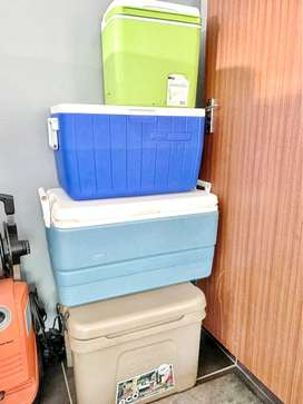 Various cooler boxes