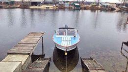 Моторная лодка катер Прогресс 4 двигатель Yamaha 30лс
