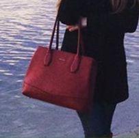 Сумочка David Jones красная сумка