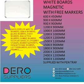 Magnetic  & Non Magnetic White Boards