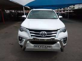 2019 white Toyota Fortuner 2.8 Gd-6 Automatic