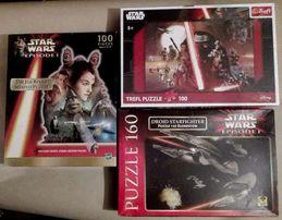 STAR WARS Gwiezdne Wojny puzzle Droid Starfighter The Phantom Menace