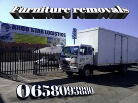 Furniture removals and Rubble services