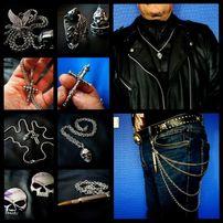 Prezent święta metal pin orzeł moto chopper skóra kamizelka Harley HD