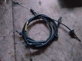 MK1 GOLF CLUTH CABLE, ACCELERATOR CABLE AND SPEEDO CABLE