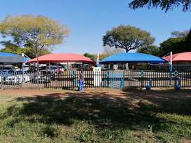 Car stand available, in the most sort after place in Pretoria.