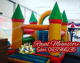 Jumping Castles Mobile Freezers VIP Toilets Chemical Toilets Sales