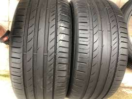245 40 R18 Continental Run Flat Tyres