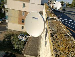 Супутникове телебачення встановлення, обслуговування, прошивка тюнерів