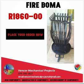 Fire Boma's