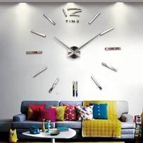 Часы настенные с 3Д эффектом. Часы на стену большого диаметра арт.004