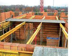 Wynajem stemple budowlane doki dźwigary h20 sztyce Poznań Skórzewo