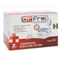 Ингалятор (небулайзер) компрессорный Dr.Frei Turbo Flow гарантия 5 лет