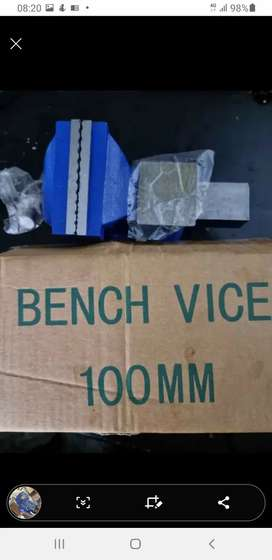 100mm Bench vice