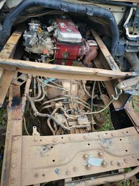 2012 HINO NO4CT Engine for sale. Still on accident damaged truck.