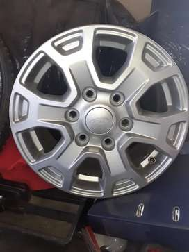 Mag rims for sell size  16 ford ranger