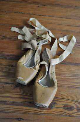 Vintage Ballet Shoes By Block