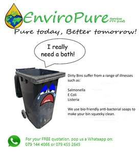Affordable Wheelie Bin Cleaning and Sanitation