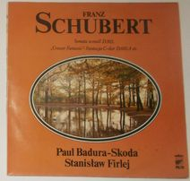 Franz Schubert Sonata a-moll Grazer Fantasie LP