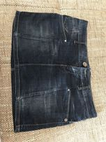 Jeans spódniczka mini RESERVED r. 40