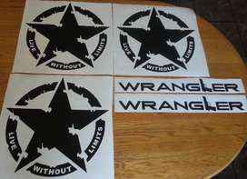 Live Without Limits star decals stickers vinyl cut graphics