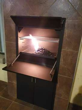 Freestanding and build in braais