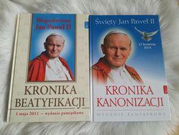 Kronika beatyfikacji i kanonizacji Jana Pawła II