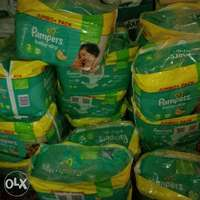 UK Pampers baby dry diapers sizez 3,4,5,5+,6 0