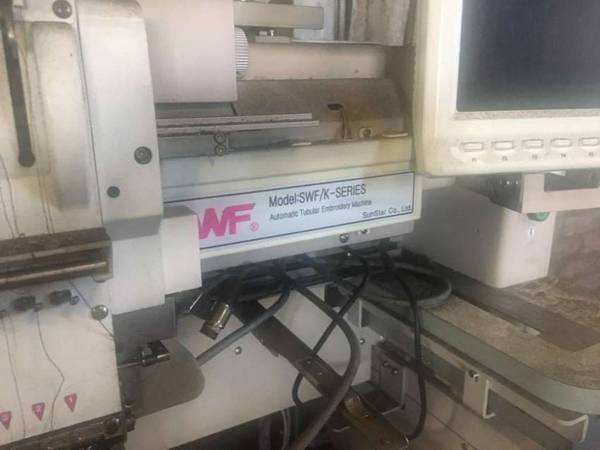 Industrial Embroidery and various machines, patterns and stock