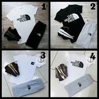Мужской летний костюм шорты+футболка Adidas,Nike,Fila,TNF,Palace,Levis