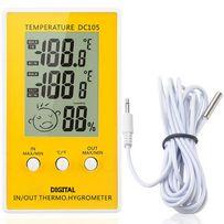 Термометр + гигрометр измеритель влажности для инкубаторов и помещений