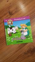 Książeczka MLEKO - Produkty że wsi. REWELACJA:)