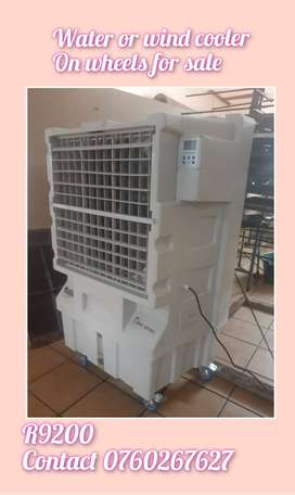 Water cooler aircon on wheels for sale