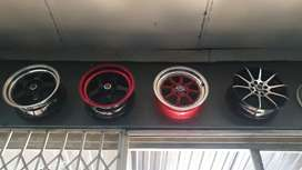 15 inch rim and tyre combo