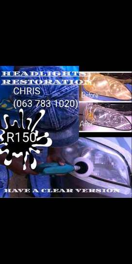 HEADLIGHTS RESTORATIONS