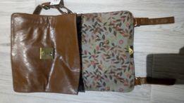Karmelowa torebka