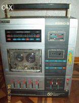 "Стерео кассетный магнитофон ""Комета М-225С-3"" БЕЗ КОЛОНОК"