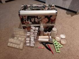 Nail Beautician Travel Case and Accessories
