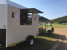Food trailer for monthly rental