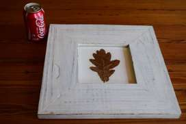 Wooden Photo Frame Painted White