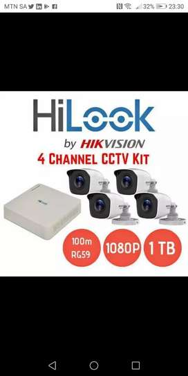 HiLook by HIKVISION 4 CHANNEL KIT 2.OMP