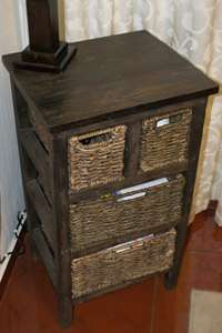 Image of Relocation sale, Priced to go! Wooden 4 drawer set with grass drawers