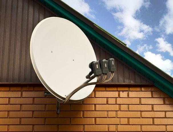 установка спутникового телевидения, SMART TV BOX x-96, КОНДИЦИОНЕРОВ. Дружковка - изображение 1