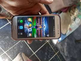 Samsung Galaxy J2, dual sim,5months old, gold with a transperant pouch