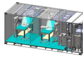 Off the grid Medical Clinic and Laboratory Container