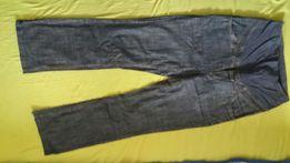 Jeansowe spodnie ciazowe
