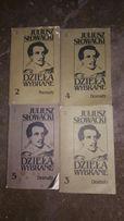 Juliusz Słowacki dzieła wybrane dramaty poematy